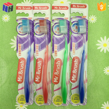 Products in demand hot selling toothbrush for Oral Care with transparent handle