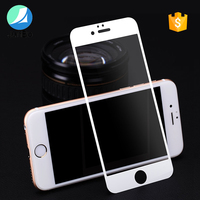 2017 trending products christmas gift anti-fingerprint 3D full cover tempered glass For iPhone 7 screen protector free sample