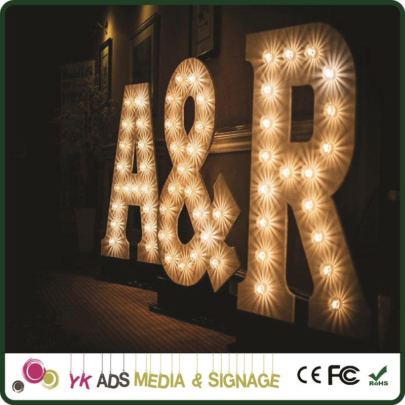 Customized Letter Sign light up letters love