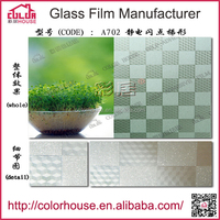 plans house removable solar 3D static cling window film
