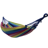 Wholesale portable swing camouflage camping hammock canvas outdoor and indoor hammock