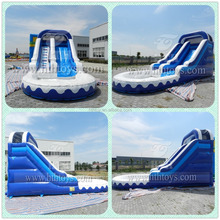 Commercial water slides multi-lane shark banzai adult water slide