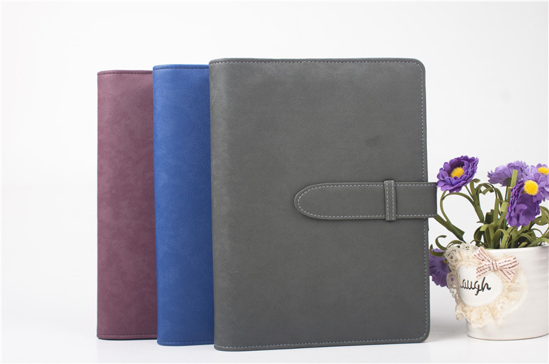 2014 pu leather bound diary