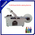 Table Top Manual Round Bottle Labeling Machine YS-50