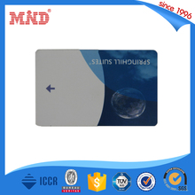 MDH29 Plastic PVC RFID hotel key card, Magnetic key card suitable with major guestroom locking system