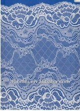 PF1 High quality plain net fabric with embroidery