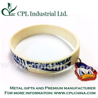 Silicon Bracelet with Charm