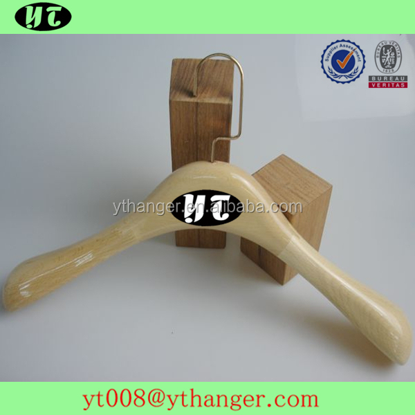 YT hanger female clothing hanger for wet clothes display wooden hangers