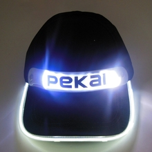 Custom Cotton led flashing sports Snapback Hat