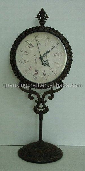 Metal Desk & Table Clocks Home decoration