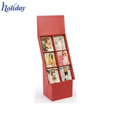 Advertising is Freely Customizable Shop Acrylic Single Cardboard Book Display Stands,Store Comic Book Display Rack Shelves