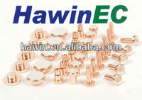 Ag/Cu contact/bimetal rivet/silver contact