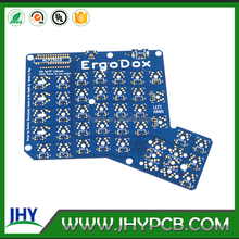 FR4 TG 170 double sided 1.6mm immersion gold ErgoDox keyboard pcb circuit board