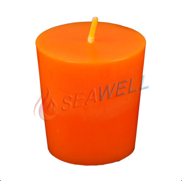 high-end hand poured artisan prayer votive candles made of clean burning unscented paraffin wax with lead free cotton wicks