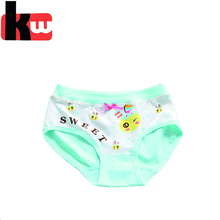Hot Printed Underwear for Girl OEM Child Panties with Bow