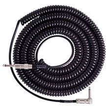 VOX Shield Curl Cord Type Coiled Cable For Electric Guitar 9m VCC90 Black New.
