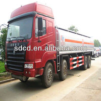 Jinan Chengda Tanker Semi Trailer Transport