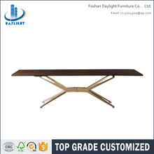 French anituqe wood top rustic dining table wood furniture