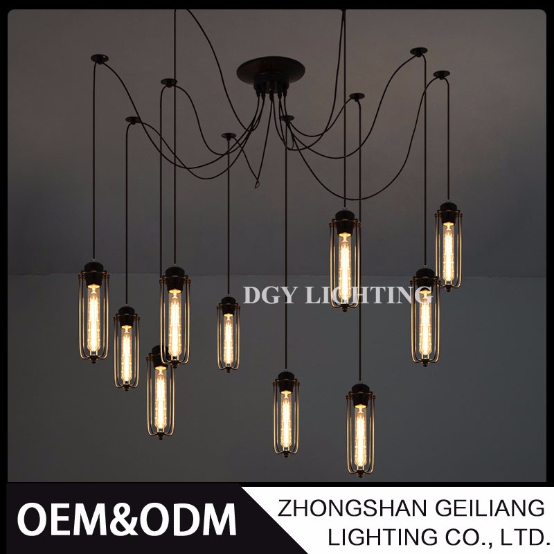american accordeon lamp vintage industrial 220v chandeliers & pendant lights ceiling lights