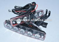 100%Quality goods 10W Large Concave sand surface Lens Super bright Daytime Running Light DRL Fog Lamp High Power White
