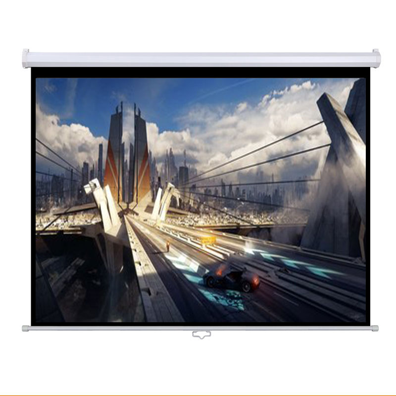 Wall Hanging Manual Projection Screen