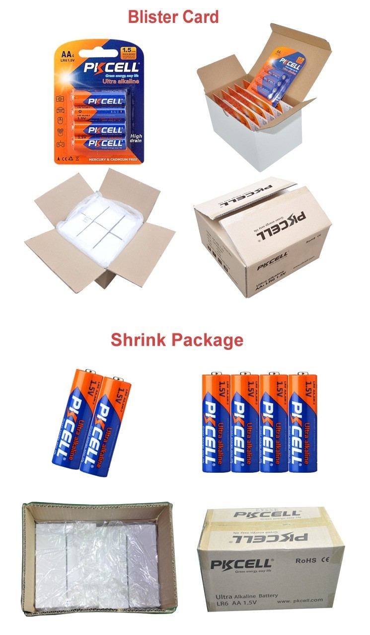 Dry battery aa lr6 UM3/AM3 alkaline rechargeable battery FROM SHENZHEN THE BATTERY