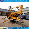 16m CE, ISO9001 and SGS tow behind towable boom lift for sale
