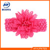 Infant flower headband Babies Crochet hairband Toddler Baby girls Flower headbands