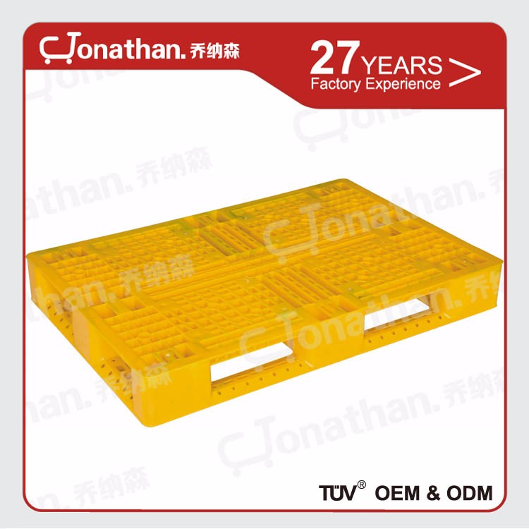 Large load heavy duty warehouse plastic pallet for sale
