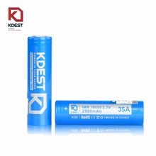 Wholesale Kdest 18650 Rechargeable Max 35A 18650 Battery Mod Electonic Cigarettes