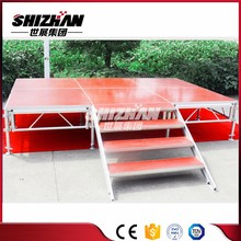 Professional Trailer Aluminum cheap removable mobile stage for sale