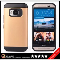 Keno Wholesale Hot Phone Accessory TPU & PC Slim Armor Couple Case for HTC One M9