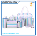 High Quality Fashion Simple Multifunctional Diaper Bags