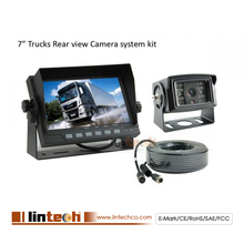 7inches Digital Back up Rear View Reversing Camera System Collision Avoidance Parking Aid for Truck