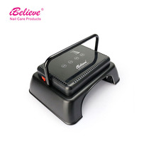 THE SPEED OF CORDLESS LED LIGHT 64w ibelieve gel uv led cordless nail lamp