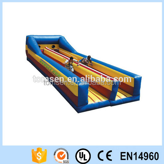 outdoor inflatable2 tunnels bungee run sport game/inflatable sport game for adults/kids
