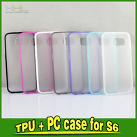 Hybrid Matte Cell Phone Case For Samsung Galaxy S6/ S6 Edge