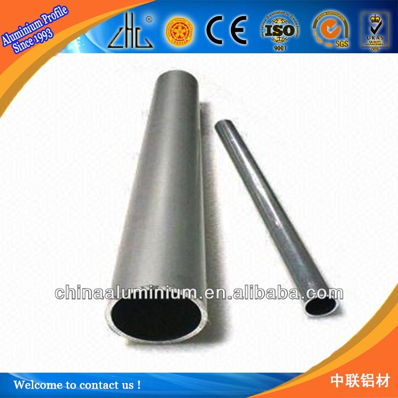 WOW ! YaLian brand series 6063 Round aluminium tube/pipe with competitive price made in China