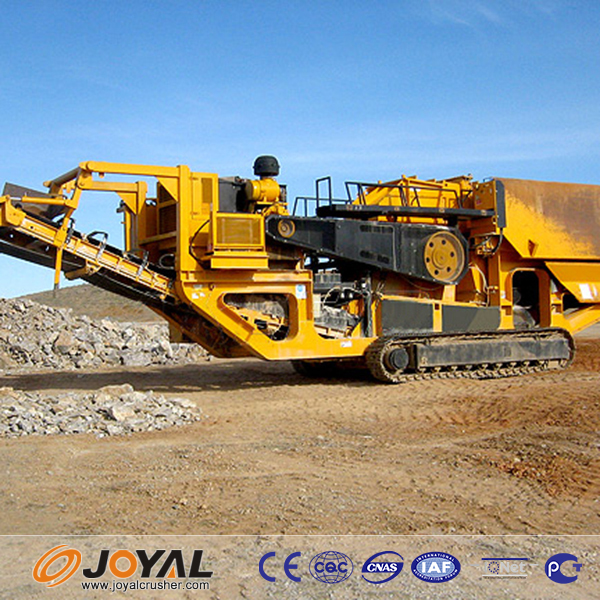 High Automation Is the Obvious virtue of Stone Crushing Plant