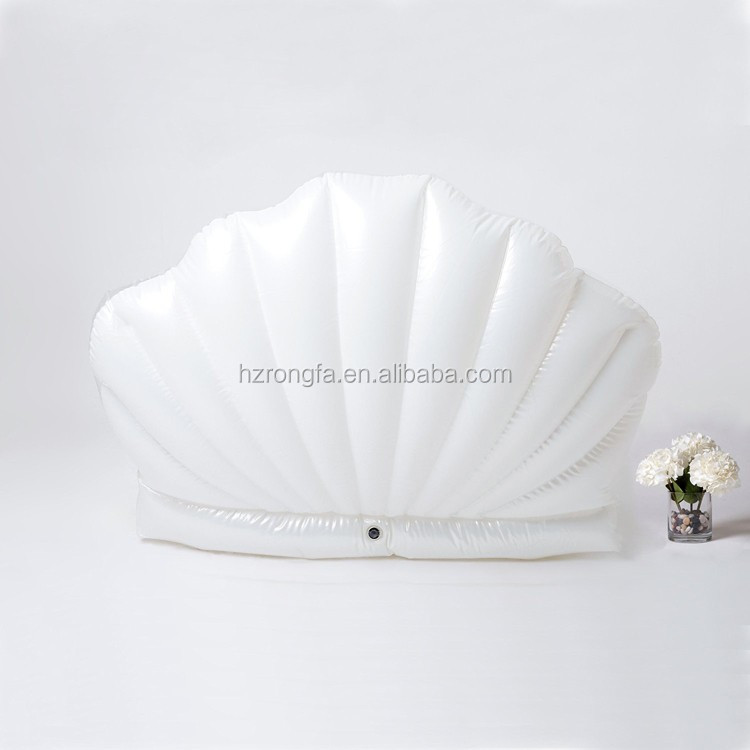 factory wholesale Giant Inflatable Seashell Pool Float