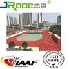 school playing 13mm IAAF certifical athletic rubber running track