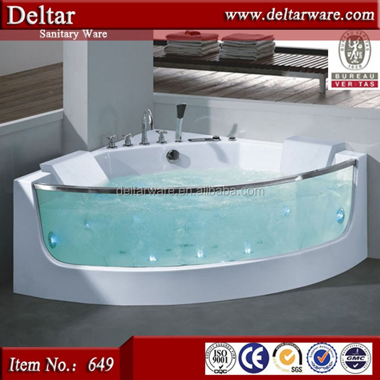 Modern free sex hot tubs triangle massage bath tub for for Modern bathtubs for sale