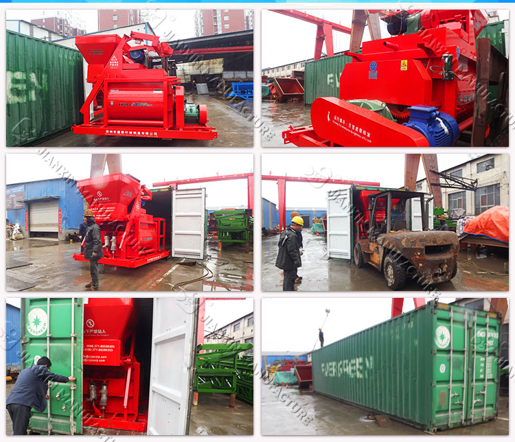 High capacity good performance central mix concrete batch plant