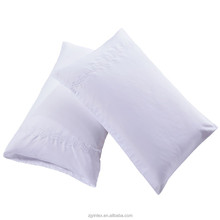 Factory wholesale imitation silk embroidered pillowcover , white silk pillowcse/satin pillowcase