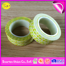 logo tape cute dots design, promotional gift washi tape china
