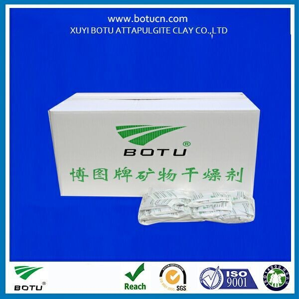 mineral montmorillonite desiccant material for packing