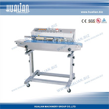 HUALIAN 2017 Automatic Continuous Plastic Bag Sealer