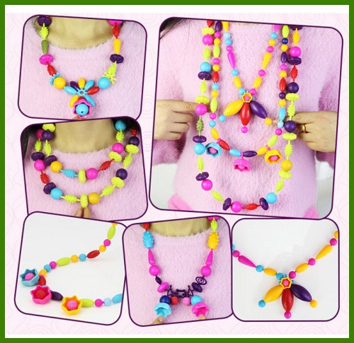Hot Fashion Kids Pope Beads Education Beads Toys For Children DIY Necklace bracelet