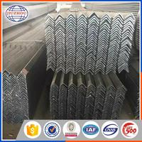 China Supplier Widely Used 200x200 Zinc Coated Equal Angle Steel Bar