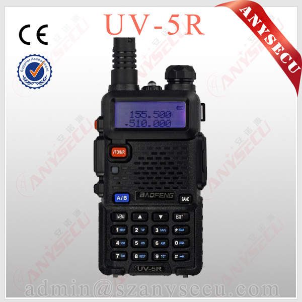 Expanded Frequency BaoFeng UV-5R 136-174/400-520 MHz Dual-Band DTMF CTCSS DCS FM Ham Two Way Radio